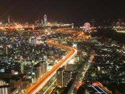 デートにおすすめ!大阪の夜景スポット&きれいな夜景が見えるお店