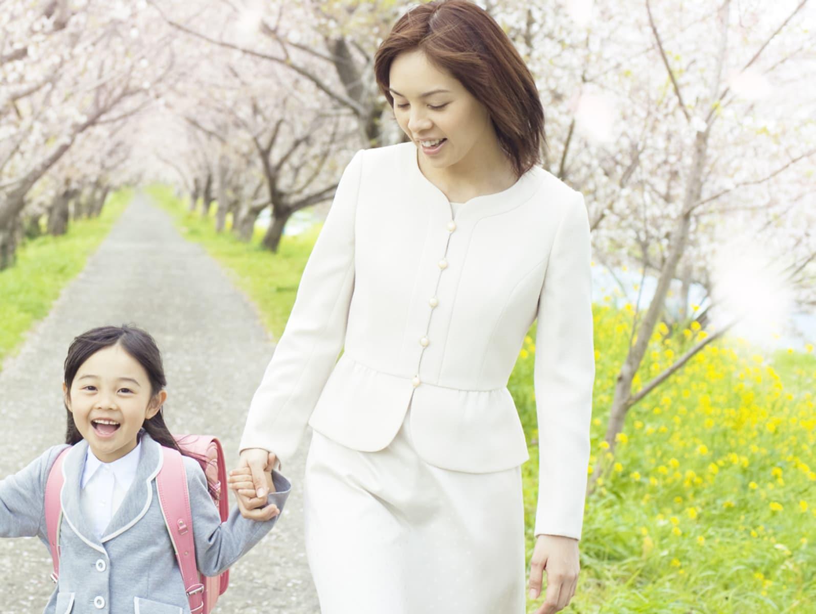 卒園式・入学式、ママの服選びと実例